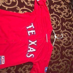 Men's Texas Rangers Yu Darvish Jersey